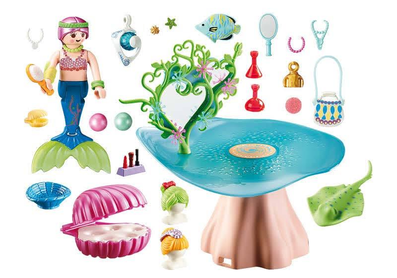 Contenido Real de Playmobil® 70096 Salón de Belleza con Joya