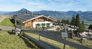 Weltcup Hütte Ofterschwang Ofterschwanger Horn Gunzesried Naturpark Nagelfluhkette Allgäu