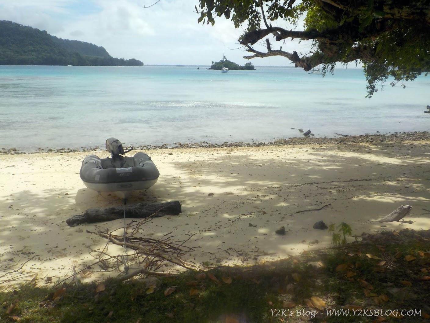 Ancoraggio di Port Orly - Santo
