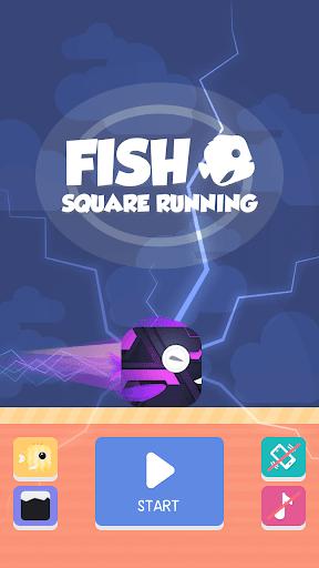 Square Fish Running  screenshots 1