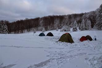 Photo: Celkový pohľad na naše táborisko