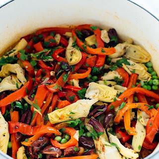 Vegetable Paella.