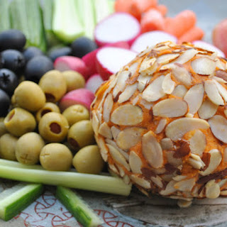 Kick Ace Extra Sharp Raw Vegan Cheddar Cheese Ball