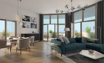 Appartement 5 pièces 104,62 m2