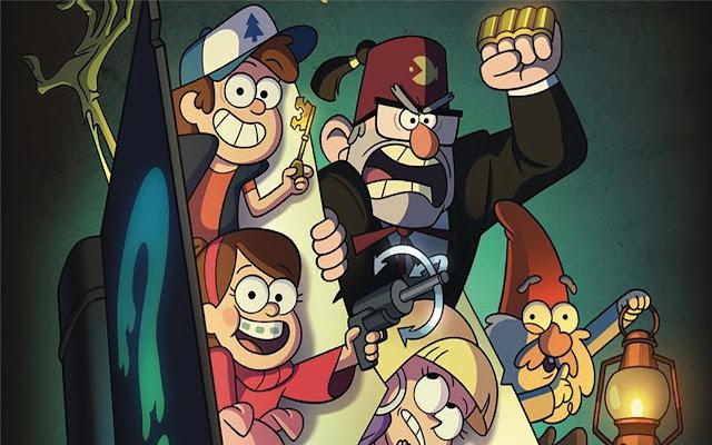 Gravity Falls Themes & New Tab