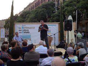 Photo: Lluís Soler recita 'En defensa pròpia'