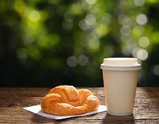 A Plain Croissant Or Biscuit