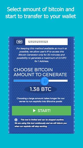 BitGen - BitCoin Generator  screenshots 2