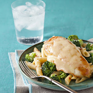 Tuscan Italian Chicken with Penne & Broccoli.