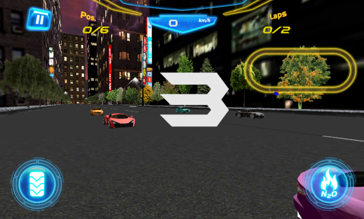Asphalt Car Racing- screenshot