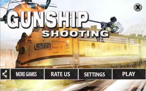 Gunship Battle Gunner Train 3D