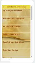 Golden Memories & Love songs screenshot thumbnail