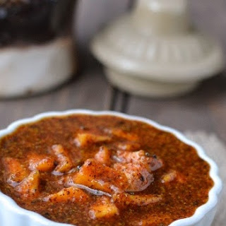 Instant Mango Pickle with Mustard & Jaggery for ICC