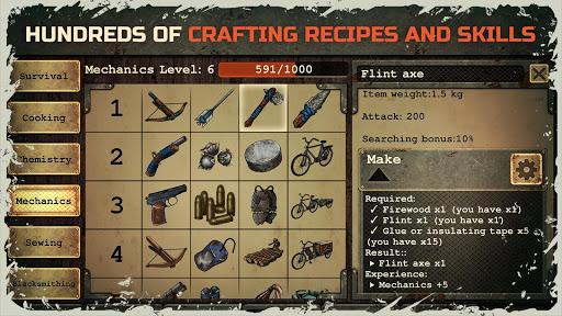 Day R Survival u2013 Apocalypse, Lone Survivor and RPG 1.556 screenshots 8