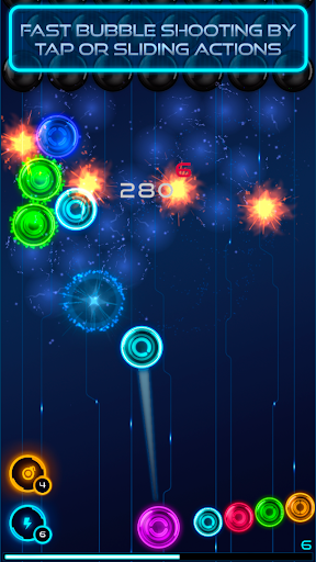 Magnetic balls: glowing neon HD 1.76 screenshots 1