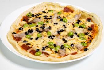 黒千石レシピ:No.8 黒千石大豆たちのお豆ピザ