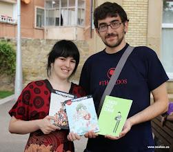 Photo: 20.09.2014.- HUESCÓMIC 2014 Beatriz Cuartero y Oscar Senar