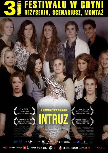 Przód ulotki filmu 'Intruz'