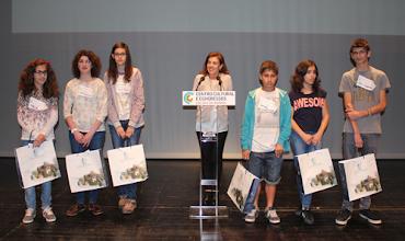 Photo: Finalistas do concurso do 3º ciclo e do ensino secundário
