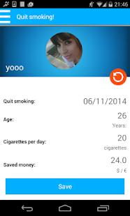 Quitify přestat kouřit! - náhled