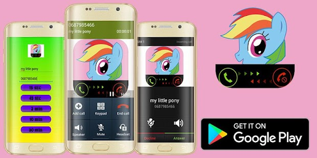 Call My Little Sweety Pony - náhled