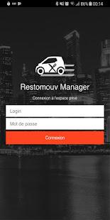 Restomouv Manager for PC-Windows 7,8,10 and Mac apk screenshot 1