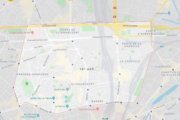18º arrondissement de la Butte-Montmartre