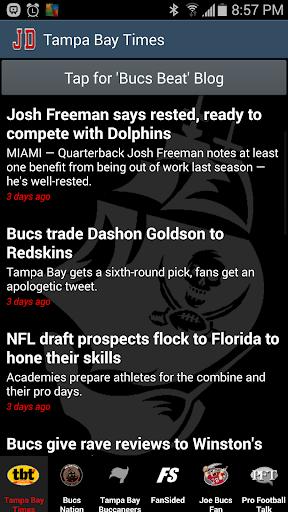 JD's Tampa Bay Buccaneers News