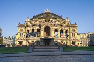 Photo: National Opera House, Kiev ~ by Matt Shalvatis