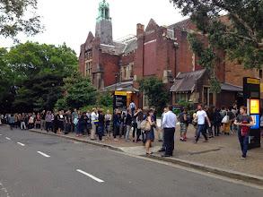 Photo: Long line in Sydney, Australia