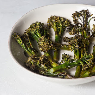 Flame-Blistered Broccoli Rabe.