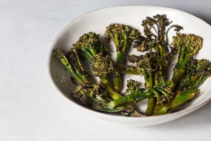 Flame-Blistered Broccoli Rabe Recipe