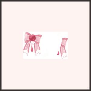 リボンの花