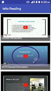 IELTS Reading Course Videos - náhled