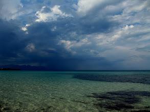 Photo: Sizilien im Oktober am Strand von Terrasini bevor der Regen kommt www.ullaegino.it