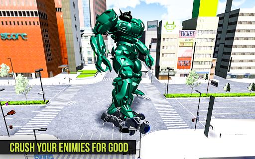 Robot Futuristic Tornado:Robot Transformation 2020 android2mod screenshots 3