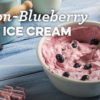 Lemon-Blueberry Kefir Ice Cream Recipe