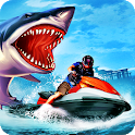 Sharks Runner.io : Simulator Jet ski Driving Games icon