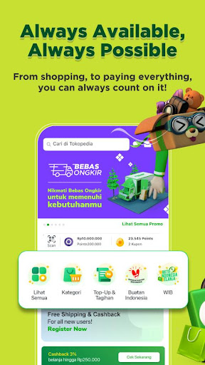 Tokopedia 3.96 screenshots 2