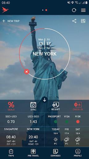 Traveler Buddy - Trip Planner and Flight Checker 2.4 screenshots 1