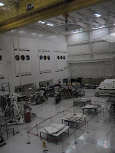 Photo: SAF Clean room... and there's Curiosity and her Sky Crane in the middle!