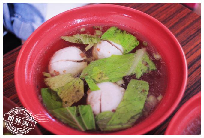 社區麵店魚丸湯