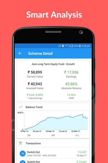 WealthTrust: Mutual Fund App- screenshot