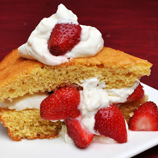 Dorie Greenspan's Cornmeal Skillet Cake With Strawberries