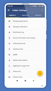 Hidden Settings for MIUI Screenshot