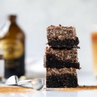 Nutella Coffee Crunch Brownies.