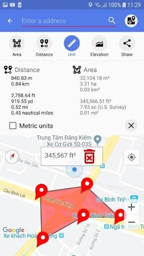 Land Area Calculator u2013 Distance Calculator Map 1.0.6 6