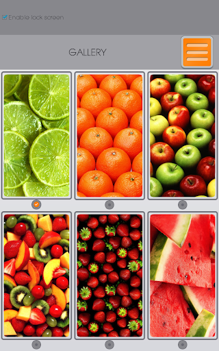 無料个人化Appのフルーツ ジッパー画面ロック|記事Game
