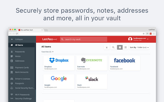 LastPass: Free Password Manager