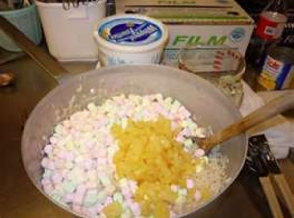 MAKES 4 Cups. Mix all together in a large Bowl. Chill and Serve!